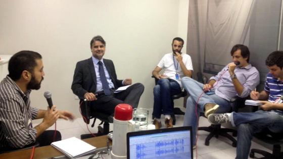 Edição especial do 45 minutos com o vice-governador de Pernambuco, Raul Henry. Foto: Rafael Brasileiro/DP/D.A Press