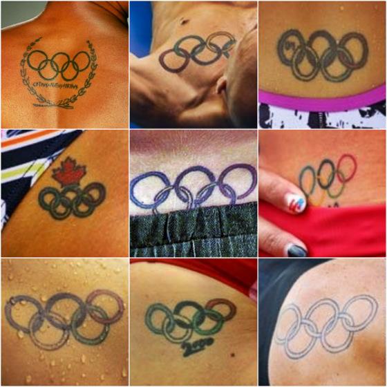 Tatuagens de atletas olímpicos