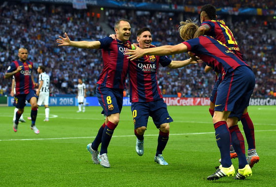 Champions League 2015, final: Barcelona x Juventus. Foto: Uefa/site oficial