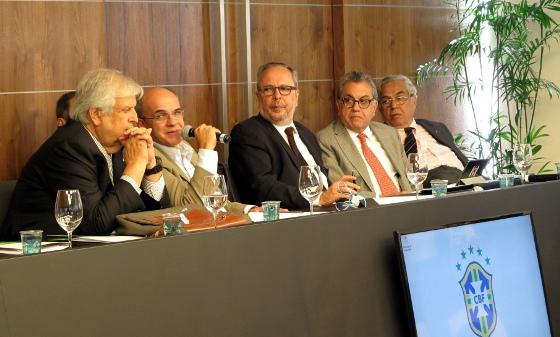 Assembleia Geral Extraordinária da CBF, em 8 de junho de 2015. Foto: CBF/Site Oficial