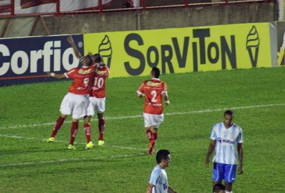 Série B 2015: Mogi Mirim 3x1 Macaé, com gols de Rivaldo e Rivaldo Júnior (2). Foto: Mogi Mirim/Facebook