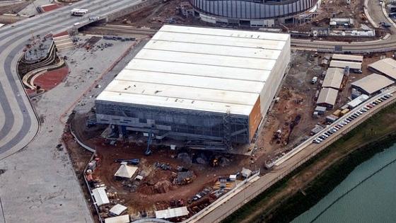 Faltando 1 ano para a Olimpíada 2016, a Arena do Futuro. Foto: Gabriel Heusi/brasil2016.gov.br