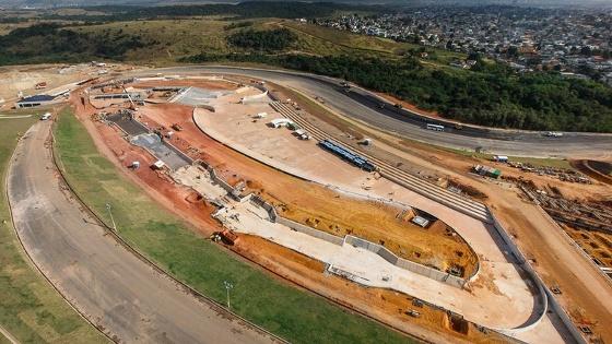 Faltando 1 ano para a Olimpíada 2016, o complexo de canoagem. Foto: Gabriel Heusi/brasil2016.gov.br