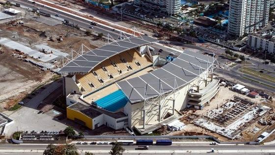 Faltando 1 ano para a Olimpíada 2016, o Parque Maria Lenk. Foto: Gabriel Heusi/brasil2016.gov.br