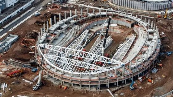 Faltando 1 ano para a Olimpíada 2016, o Velódromo. Foto: Gabriel Heusi/brasil2016.gov.br