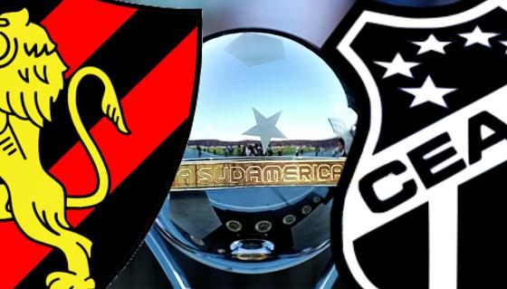 Sport x Ceará na Copa Sul-Americana 2015...? Arte: Cassio Zirpoli/DP/D.A Press