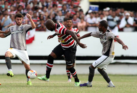 Série B 2015, 17ª rodada: Santa Cruz x Botafogo. Foto: Antônio Melcop/Santa Cruz