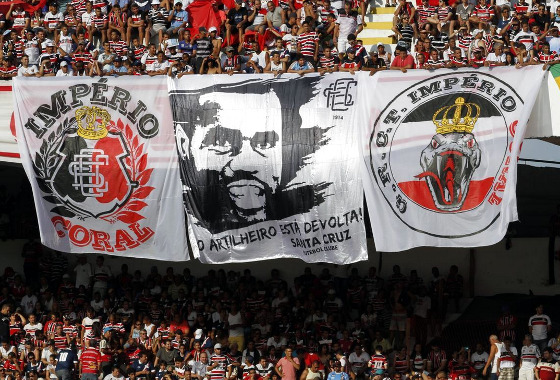 Série B 2015, 17ª rodada: Santa Cruz x Botafogo. Foto: Ricardo Fernandes/DP/D.A Press