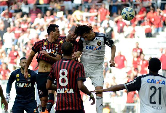 Série A 2015, 17ª rodada: Atlético-PR 1x1 Sport. Foto: Gustavo Oliveira/Atlético-PR (site oficial)