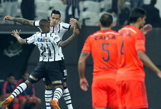 Série A 2015, 18ª rodada: Corinthians 4x3 Sport. Foto: Corinthians/site oficial