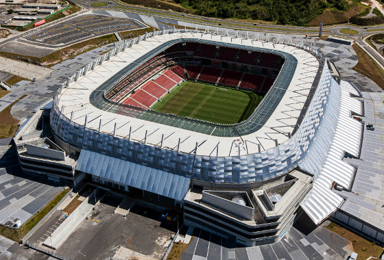 Arena Pernambuco. Foto: copagov/divulgação