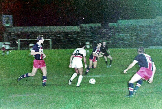 Amistoso, 1979: PSG 1 (4) x (3) 1 Santa Cruz. Foto: Santa Cruz/arquivo