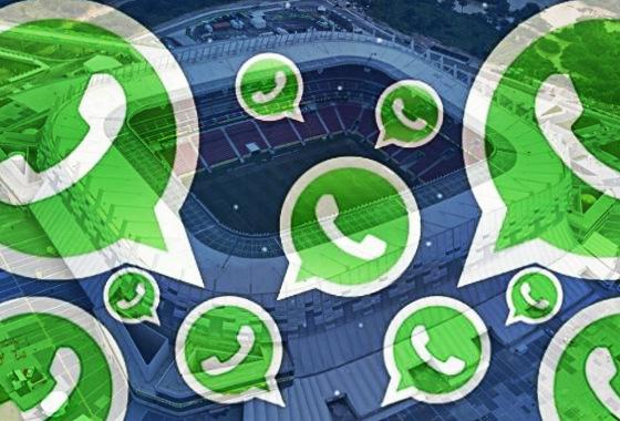 Grupo anti-violência no futebol pernambucano no WhatsApp. Arte: Cassio Zirpoli/DP/D.A Press
