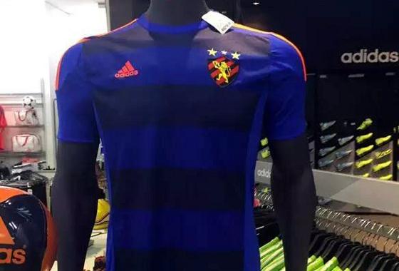 A primeira camisa azul do Sport 167e8c878e853