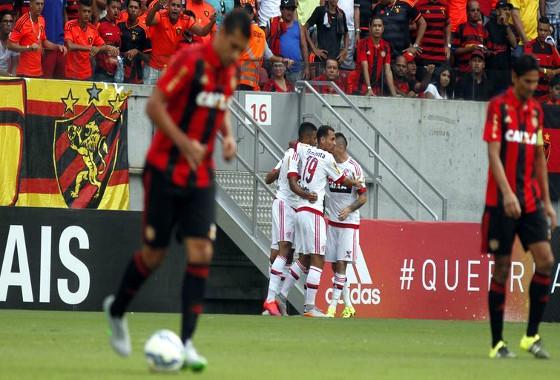 Série A 2015, 21ª rodada: Sport 0x1 Flamengo. Foto: Ricardo Fernandes/DP/D.A Press