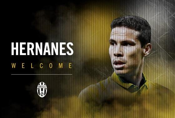 Hernanes acertou com a Juventus em 2015. Foto: Juventus/twitter