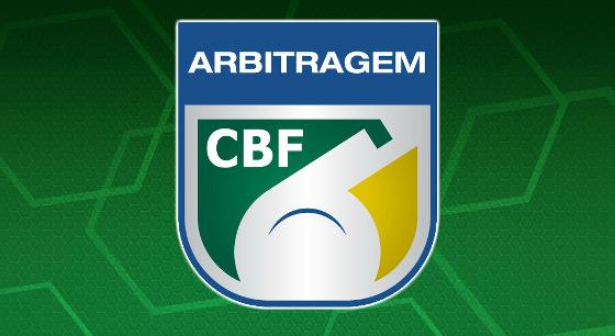 Escudo da arbitragem brasileira. Crédito: CBF