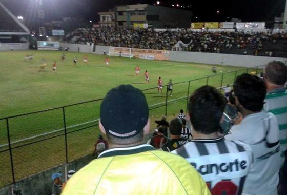 Série D 2015, Central 3x0 Serrano-BA. Foto: Raniere Marcelo/divulgação (twitter.com/RaniereMarcelo)
