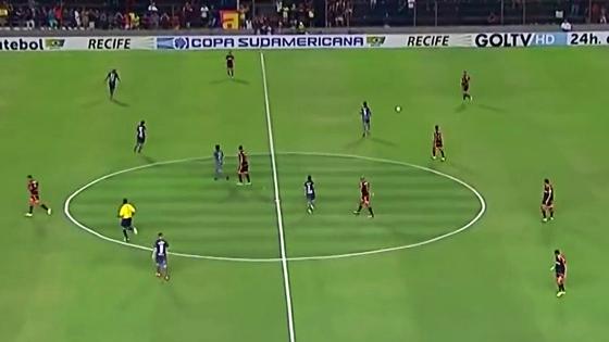 Painéis da Copa Sul-Americana. Crédito: Fox Sports/youtube