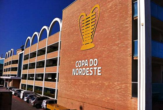 Sorteio da Copa do Nordeste de 2016, em 24/09/2015, em Natal. Foto: Cassio Zirpoli/DP/D.A Press