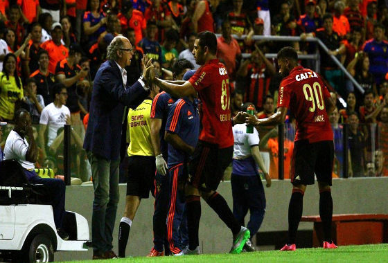 Série A 2015, 28ª rodada: Sport 3x0 Chapecoense. Foto: Paulo Paiva/DP/D.A Press