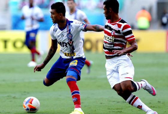 Série B 2015, 34ª rodada: Bahia 1x2 Santa Cruz. Foto: Felipe Oliveira/Divulgação/EC Bahia