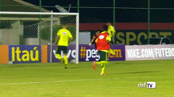 Treino da Seleção BrasileiroaTreino da Seleção Olímpica no CT do Sport, em 09/11/2015. Crédito: CBF/youtube no CT do Sport