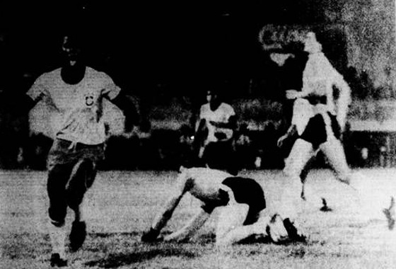 Pré-Olímpico de 1976, no Arruda, Brasil 2 x 0 Argentina. Foto: Arquivo/DP
