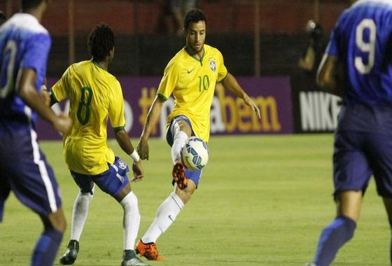 Amistoso, 2015: Brasil (olímpico) x EUA. Foto: Ricardo Fernandes/DP/D.A Press