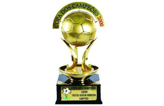 Troféu da Copa dos Campeões de 2000. Foto: Palmeiras