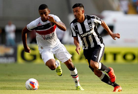 Série B 2015, 36ª rodada: Botafogo 0x3 Santa Cruz. Foto: Vitor Silva/Botafogo