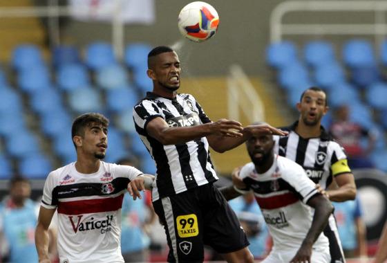 Série B 2015, 36ª rodada: Botafogo 0x3 Santa Cruz. Foto: Ernesto Carriço/O Dia/Estadão