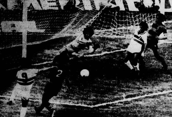 Série A 1978: Santa Cruz 1x0 Sport. Foto: Arquivo/DP