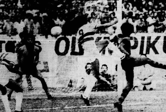 Série A 1978: Santa Cruz 3x0 Sport. Foto: Arquivo/DP