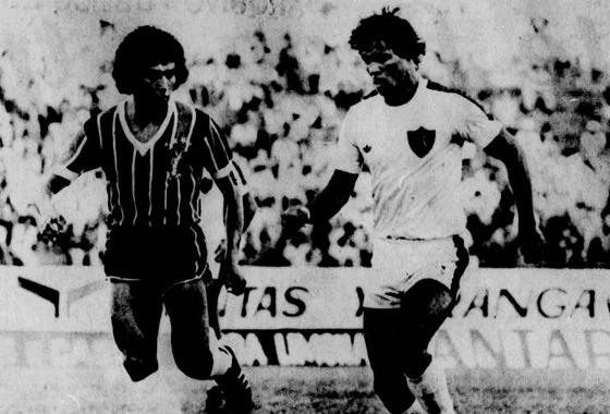 Série A 1979: Santa Cruz 0x1 Sport. Foto: Arquivo/DP