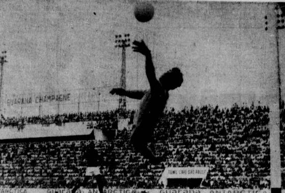 Série A 1971: Sport 1x1 Santa Cruz. Foto: Arquivo/DP