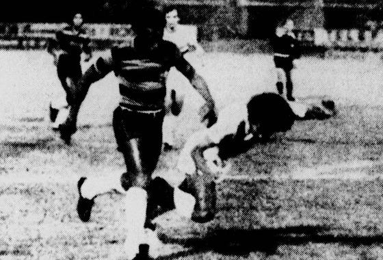 Série A 1974: Santa Cruz 0x3 Sport. Foto: Arquivo/DP