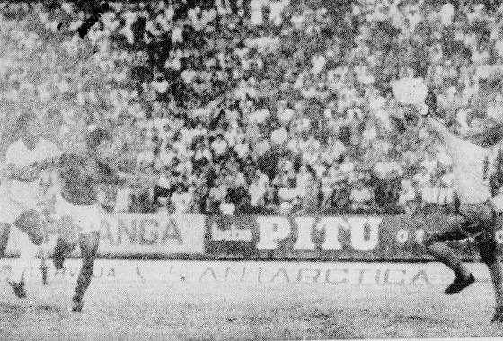 Série A 1975: Santa Cruz 3x3 Sport. Foto: Arquivo/DP