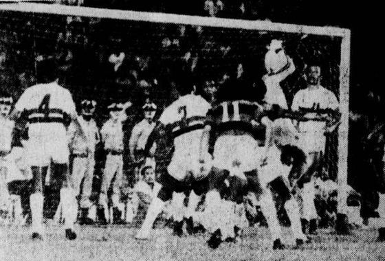 Série A 1975: Sport 1x3 Santa Cruz. Foto: Arquivo/DP
