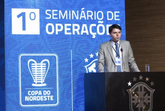 Seminário sobre a Copa do Nordeste de 2016. Foto:  Fernando Torres/CBF