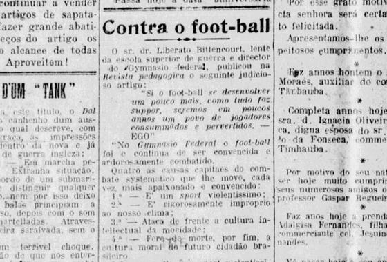 Texto publicado no Diario de Pernambuco em 25 de dezembro de 1916