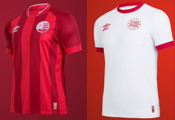Novas camisas do Náutico para a temporada 2015 2016. Crédito   Náutico twitter 01ffddffea85a