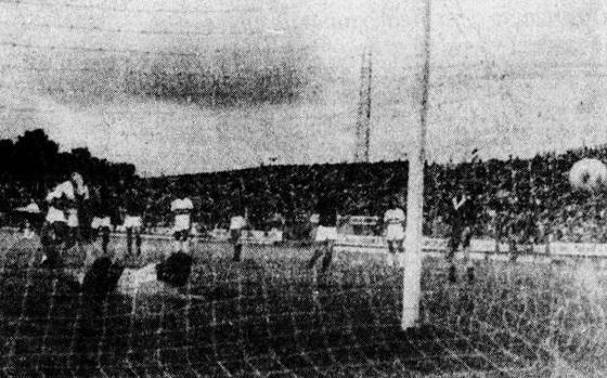 Série A 1975, semifinal: Santa Cruz 2x3 Cruzeiro. Foto: Diario de Pernambuco/arquivo