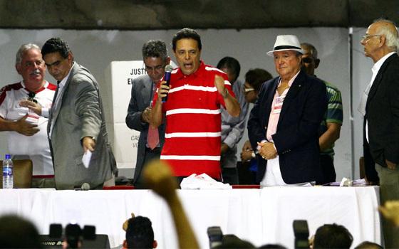 Marcos Freitas, o presidente eleito do Náutico para 2016 e 2017. Foto: Paulo Paiva/DP/D.A Press