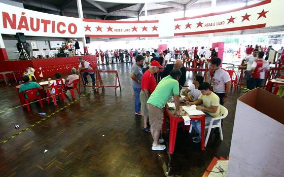 A eleição do Náutico para o biênio 2016/2017. Foto: Paulo Paiva/DP/D.A Press