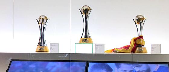 Barcelona, tricampeão do Mundial da Fifa. Crédito: Barcelona/site oficial