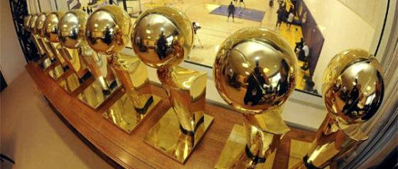 Los Angeles Lakers, eneacampeão da NBA. Crédito: divulgação