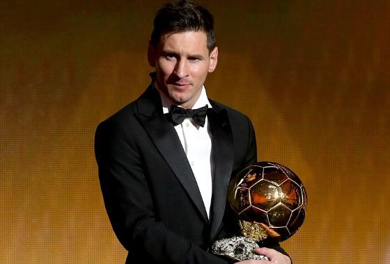 Lionel Messi, o melhor do mundo em 2009, 2010, 2011, 2012 e 2015. Fotos: Fifa/divulgação