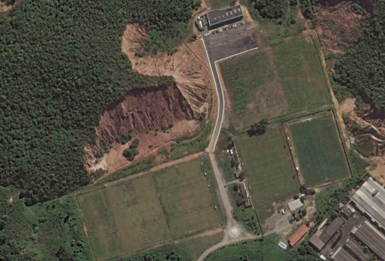 entro de Treinamento Wilson Campos, do Náutico na Guabiraba. Imagem: Google Maps/janeiro de 2016