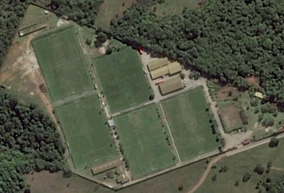 Centro de Treinamento José de Andrade Médicis, do Sport, em Paratibe. Imagem: Google Maps/janeiro de 2016